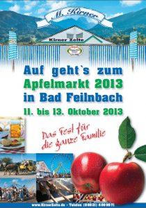 Bad Feilnbacher Apfelmarkt 2013