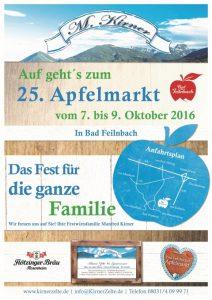 Plakat Apfelmarkt