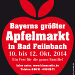 Bayerns größter Apfelmarkt in Bad Feilnbach