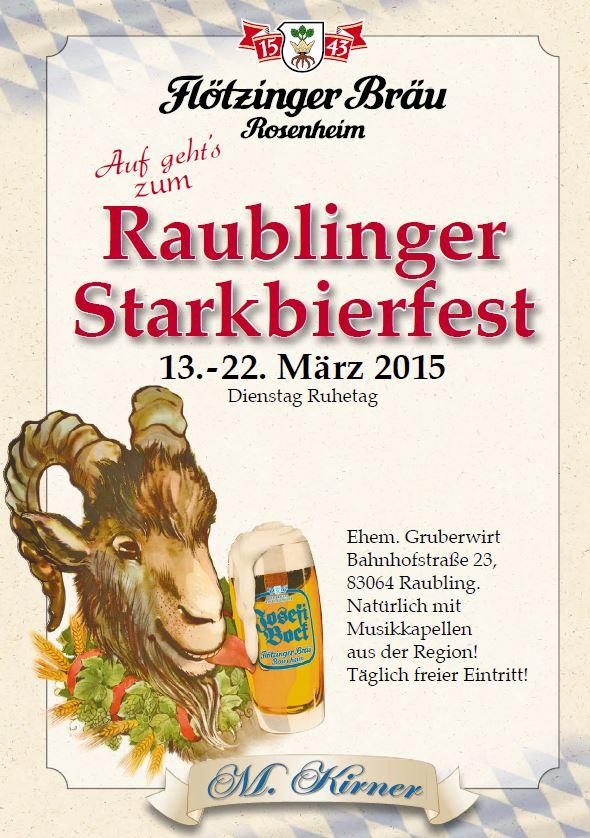 Raublinger Starkbierfest 2015
