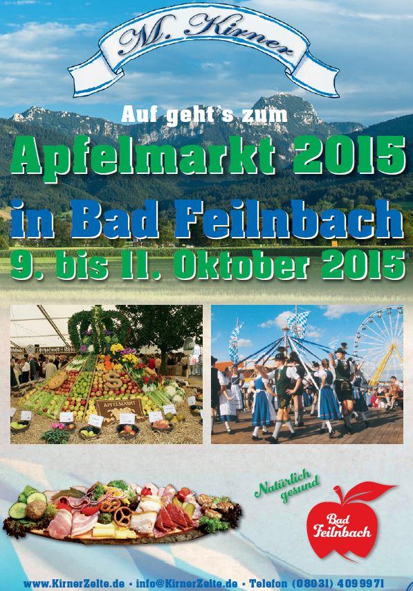 Kirner Apfelmarkt 09. - 11.10.2015