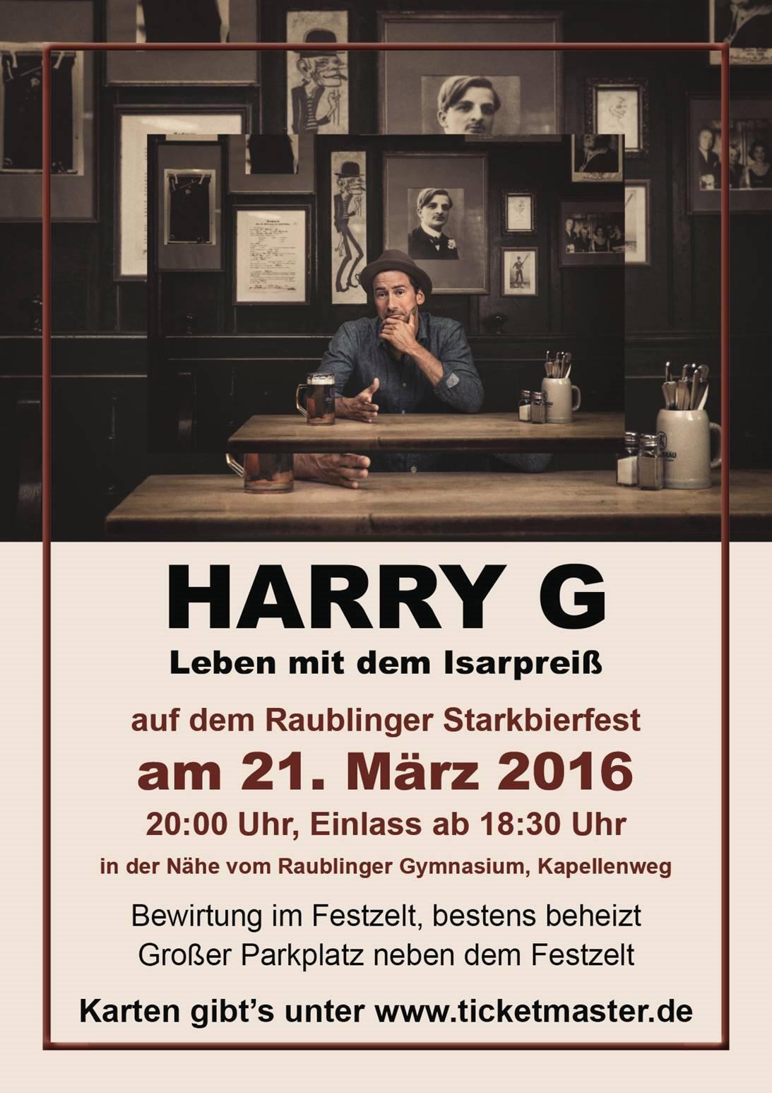 Harry G Starkbierfest Raubling