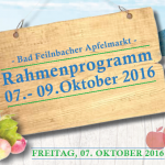 Apfelmarkt Rahmenprogramm