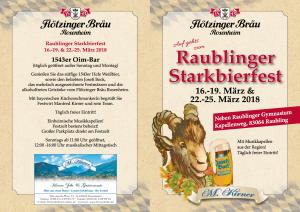 Starkbierfest Raubling 2018